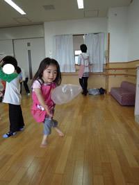 フーセン遊ぶオルガン姫子