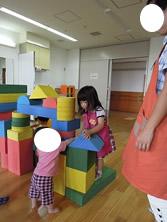 積み木遊びオルガン姫子